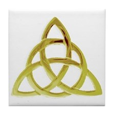 Triquetra, Charmed, Book of Shadows Tile Coaster