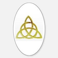 Triquetra, Charmed, Book of Shadows Sticker (Oval)