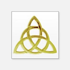 "Triquetra, Charmed, Book of Square Sticker 3"" x 3"""