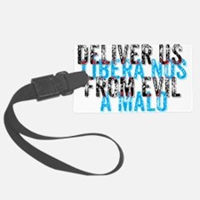 Deliver Us From Evil - English/L Luggage Tag