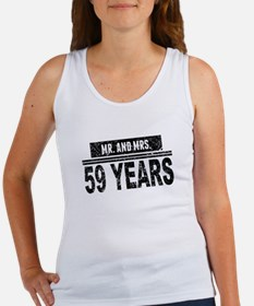 Mr. And Mrs. 59 Years Tank Top