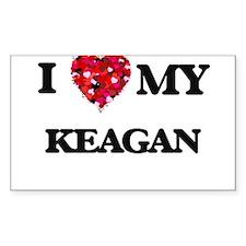 I love my Keagan Decal