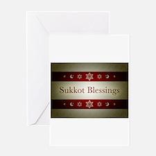 sukkot blessings Greeting Cards
