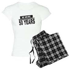 Mr. And Mrs. 50 Years Pajamas