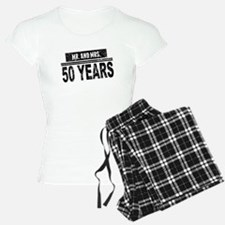 Mr. And Mrs. 50 Years Pajamas