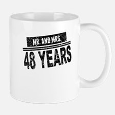Mr. And Mrs. 48 Years Mugs