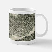 Vintage Pictorial Map of Cincinnati (1900) Mugs