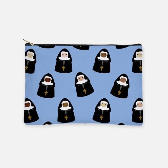 nuns-cute_9x12.png Makeup Bag