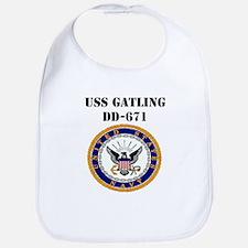 USS GATLING Bib