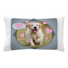 Cute Kids dog Pillow Case