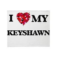 I love my Keyshawn Throw Blanket