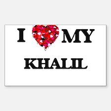 I love my Khalil Decal