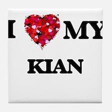 I love my Kian Tile Coaster