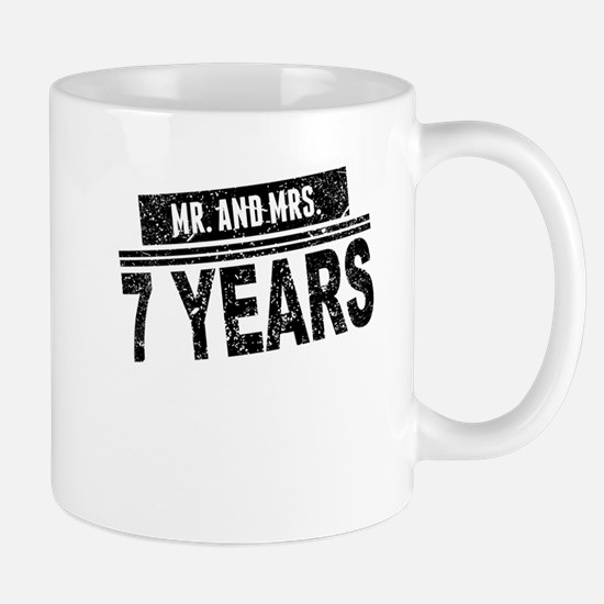 Mr. And Mrs. 7 Years Mugs