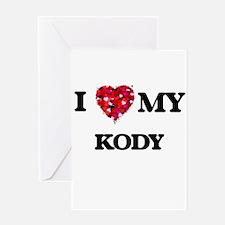 I love my Kody Greeting Cards