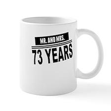 Mr. And Mrs. 73 Years Mugs