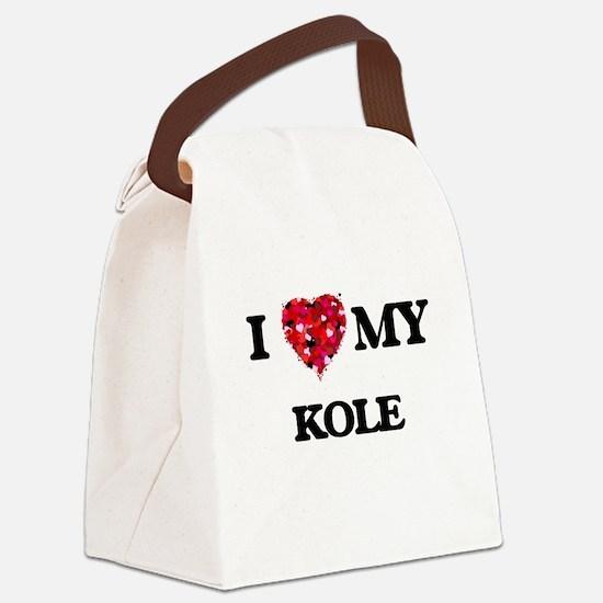 I love my Kole Canvas Lunch Bag