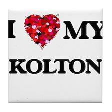 I love my Kolton Tile Coaster