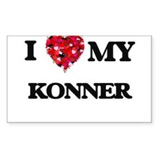 I love my Konner Decal