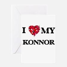 I love my Konnor Greeting Cards