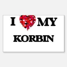I love my Korbin Decal