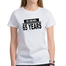 Mr. And Mrs. 65 Years T-Shirt
