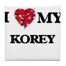 I love my Korey Tile Coaster