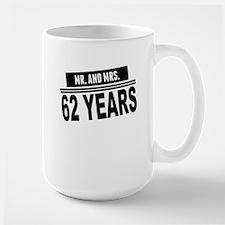 Mr. And Mrs. 62 Years Mugs