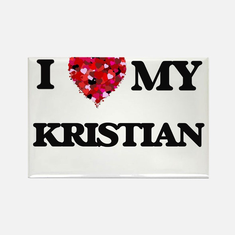 I love my Kristian Magnets