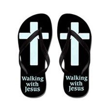 Believe In Jesus Flip Flops