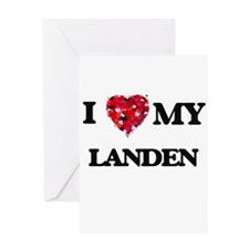 I love my Landen Greeting Cards
