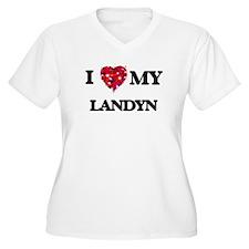 I love my Landyn Plus Size T-Shirt