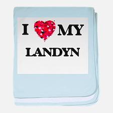 I love my Landyn baby blanket