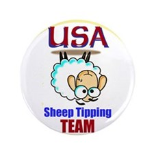 USA Sheep Tippers Button