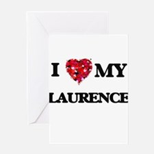 I love my Laurence Greeting Cards