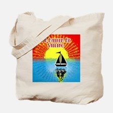ID RATHER BE SAILING Tote Bag
