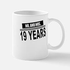 Mr. And Mrs. 19 Years Mugs