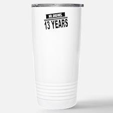 Mr. And Mrs. 13 Years Travel Mug