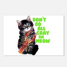 Don't Go All Crazy On Me Postcards (Package of 8)