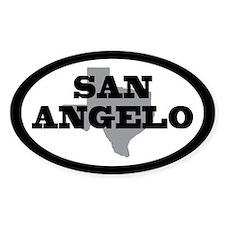 San Angelo Texas Decal