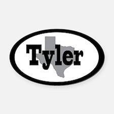 Tyler Oval Car Magnet