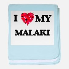 I love my Malaki baby blanket