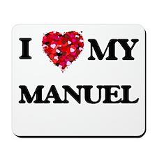 I love my Manuel Mousepad