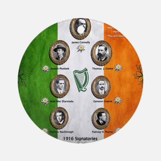 The rising 1916 Round Ornament