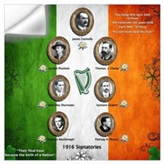 The rising 1916 Wall Decal