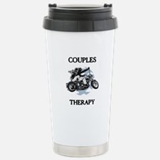 Couples Therapy Stainless Steel Travel Mug