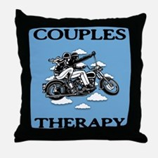 Couples Therapy Throw Pillow