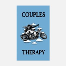 Couples Therapy Sticker (Rectangle)
