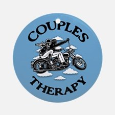 Couples Therapy Ornament (Round)