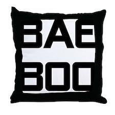 Bae Boo Throw Pillow